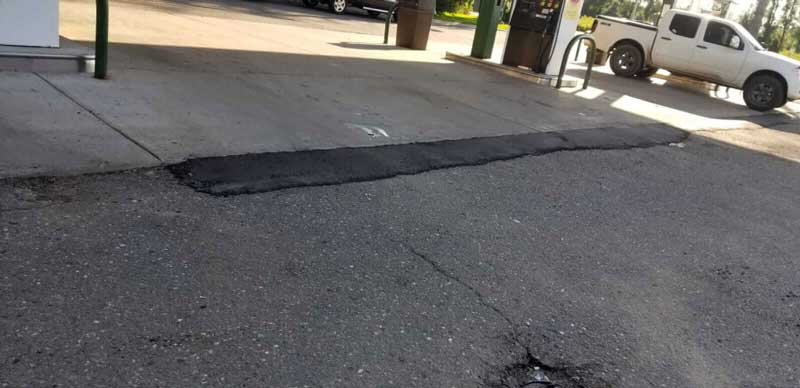commercial asphalt crack repair